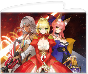 Fate/EXTELLA B1挂画 尼禄&玉藻前&阿提拉