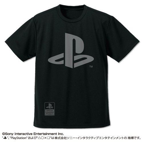 PlayStation T恤 PLAYER 黑色 S