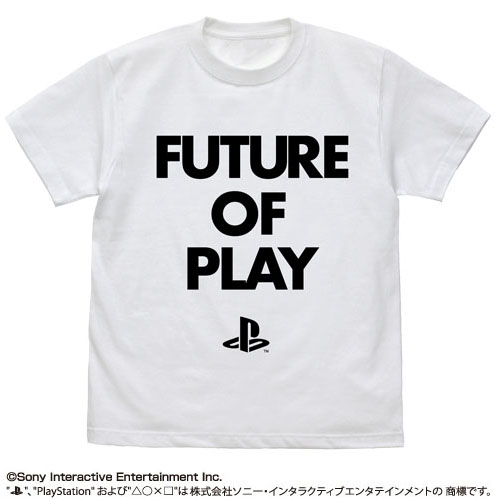 PlayStation T恤 FUTURE OF PLAY 白色 S