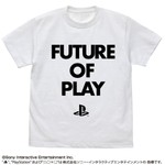 PlayStation T恤 FUTURE OF PLAY 白色