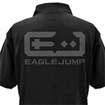 NEW GAME!! EAGLE JUMP Polo衫/黑色