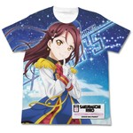 LoveLive!SunShine!! 樱内梨子 T恤 HAPPY PARTY TRAIN White