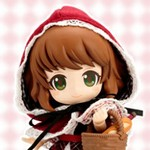 Cu-poche friends Little Red Riding Hood 小红帽【代理版】