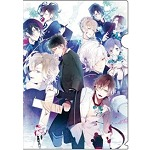 DIABOLIK LOVERS MORE,BLOOD 透明文件夹